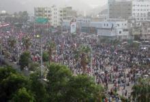"""صورة اليمن / أنصار """"الحراك الجنوبي"""" يحتشدون للمطالبة بالانفصال وواشنطن تتهم طهران بدعمهم"""