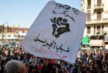 صورة مظاهرة إلكترونية لـ6 أبريل على صفحات التعليم والحرية والعدالة ومرسى