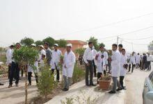 صورة كلية الآداب جامعة القادسية تقيم اسبوعاً بيئياً
