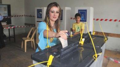 صورة مصرع واصابة ثلاثة موظفين في المفوضية  أثر سقوط أجهزة التصويت