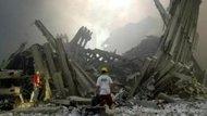 صورة هجمات سبتمبر: استئناف البحث عن الاشلاء في ركام مركز التجارة العالمي