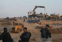 صورة الاحتلال الصهيوني يهدم قرية العراقيب للمرة الـ56   على التوالي
