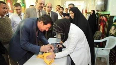صورة صحة النجف تباشر بتنفيذ حملة للتلقيح ضد مرض شلل الأطفال