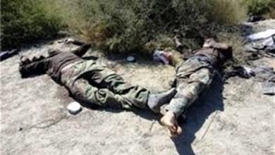 صورة مقتل 4 أعوان حرس تونسيين بعملية نفذها مسلحون بالقصرين