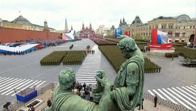 صورة موسكو تشهد أضخم عرض عسكري بمناسبة عيد النصر