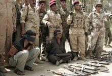 صورة الامن الوطني في الديوانية يعتقل اثنين من تنظيم داعش حاولا التسلل الى المحافظة