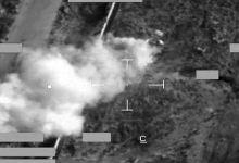 صورة مقتل 20 من داعش في قصف جوي بالأنبار وكركوك
