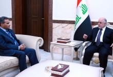 صورة بغداد تبحث مع القاهرة تعزيز العلاقات بينهما
