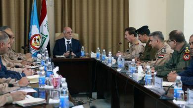 صورة العبادي يوعز الى القوة الجوية للدفاع عن سيادة العراق