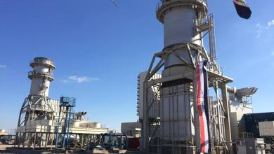 صورة افتتاح محطة كهرباء غازية في الديوانية وحكومتها تطالب بحصتها الانتاجية وفرص العمل