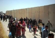 صورة تفجير انتحاري يستهدف عوائل نازحة من الصقلاوية