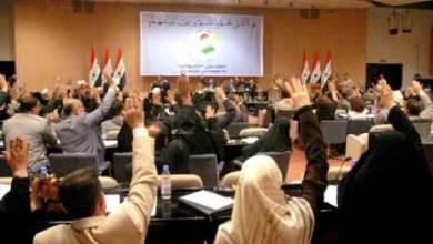 صورة الإجراءات التي صوت عليها مجلس النواب ضمن قرار ضد حكومة إقليم كردستان
