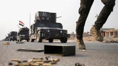 صورة مقتل 12 داعشيا وتدمير عجلات مفخخة في الموصل