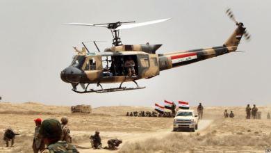 صورة تقدم كبير للقوات العراقية في مطار الموصل ومعسكر الغزلاني