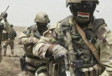 صورة القوات الامنية تسيطر على ناحية الاسحاقي
