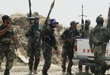 صورة الحشد يحبط هجوم لداعش في الانبار