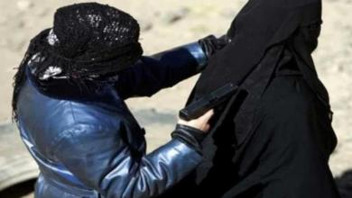 صورة القبض على أخطر نساء داعش في الموصل