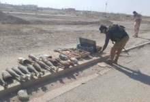 صورة بالصور العثور على معمل للتفخيخ وصواريخ في الانبار