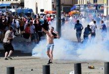 صورة اندلاع اعمال شغب عنيفة في باريس