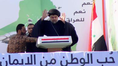 صورة الصدر يدعو الاستمرار بالاصلاح حتى لو قتل ويهدد بمقاطعة الانتخابات
