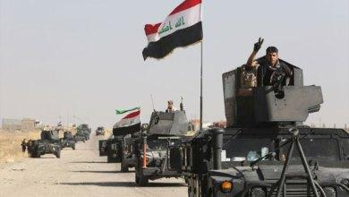 صورة القوات الامنية تقتحم منطقة العكلة غربي الانبار