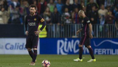 """صورة ملقا يهزم برشلونة بـ""""هدفين"""" نظيفين في الليغا"""