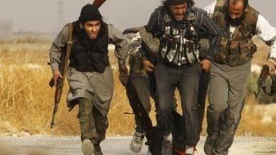 صورة أكثر من 50 داعشيا يسلمون أنفسهم في الشرقاط