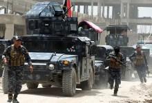 صورة بالارقام الشرطة الاتحادية تعلن حجم الاراضي المحررة وخسائر داعش لمعركة الساحل الايمن