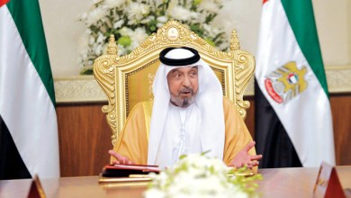 صورة ظهور رئيس دولة الإمارات العربية بعد غياب أكثر من ثلاث سنوات