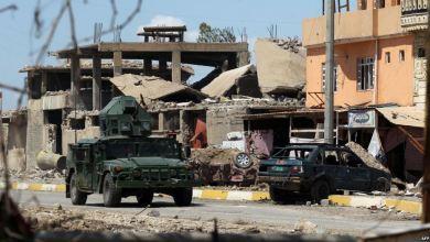 صورة القوات العراقية تدمر خط الصد الاول لداعش بمحيط جامع الخلافة