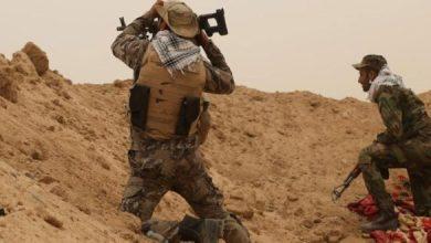 صورة احباط هجوم داعشي على الحدود العراقية السورية