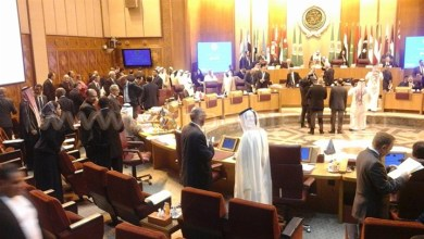 صورة اجتماع رباعي لوزراء الخارجية المقاطعة لقطر  لبحث الخطوات المقبلة