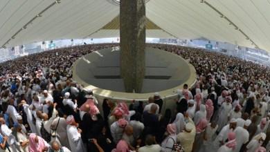 صورة أكثر من مليوني حاج يرمون جمرة العقبة الكبرى