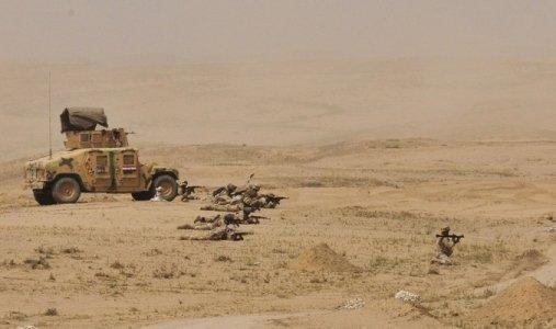 انطلاق حملة عسكرية غرب الانبار لتأمين الحدود الدولية