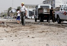 صورة استشهاد واصابة عدد من المدنيين بأنفجار في منطقة زيونة شرقي بغداد