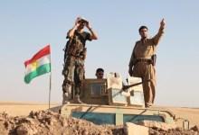 صورة أنتشر للقوات البيشمركة قرب كركوك وبغداد تنفي أي استعدادات للهجوم