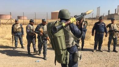 """صورة القوات الأمنية العراقية تفرض سيطرتها على كركوك , والبيشمركة تتهم بعض المسؤولين بـ""""الخيانة"""""""