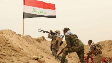 صورة القوات العراقية تباشر بتحصين الشريط الحدودي مع سوريا