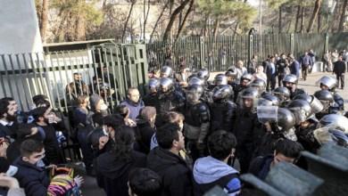 صورة تجدد الاحتجاجات في ايران وسقوط قتلى وجرحى