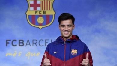 صورة برشلونة يكشف مدة غياب لاعبه الجديد كوتينيو