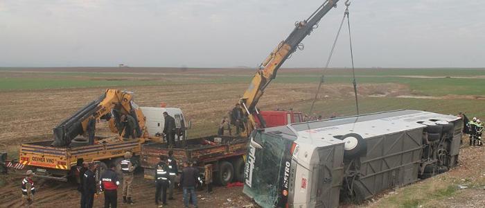 مصرع 9 أشخاص بينهم اطفال بانقلاب حافلة تقل عراقيين في تركيا