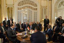 صورة اجتماع رباعي لوزيري الخارجية ورئيسي المخابرات المصري والسوداني