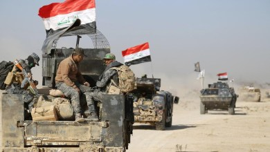 صورة القوات المشتركة تنفذ عملية لمطاردة عناصر داعش في الأنبار