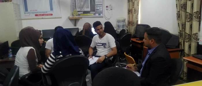 منظمة النجدة الشعبية تبدأ بتنفيذ برنامج مشروع تعزيز الديمقراطية في محافظة الديوانية