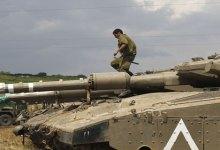 صورة سقوط عشرات الصواريخ على الجولان المحتل وإسرئيل  تتهم فيلق القدس الإيراني