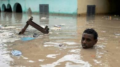 صورة ارتفاع عدد المفقودين في إعصار ماكونو ضرب جزيرة سقطرى