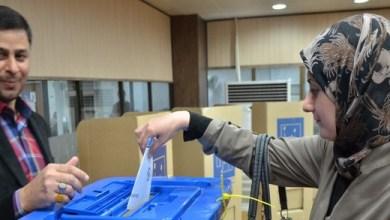 صورة مفوضية الانتخابات ترد معترضين على النتائج