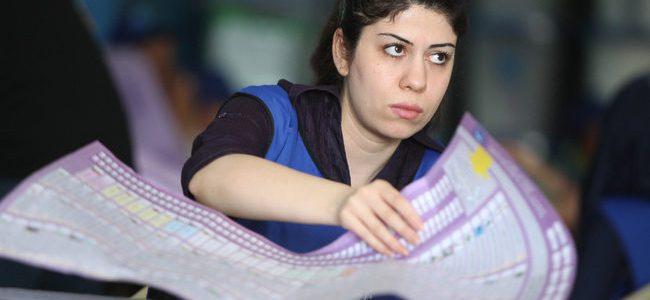 مفوضية الانتخابات : موظفونا  في كركوك بحكم الرهائن