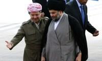 لقاءات تجمع 5 قادة بينهم بارزاني والصدر والكورد قد يتحالفون مع المالكي عقوبة للعبادي