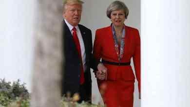 صورة ترامب: العلاقات مع بريطانيا قوية جدا